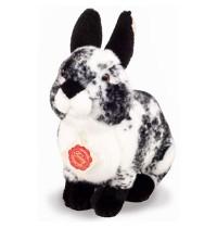 Teddy-Hermann - Bauernhof - Hase sitzend schwarz-weiß gescheckt 22 cm