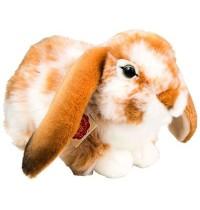 Teddy-Hermann - Bauernhof - Hase sitzend hellbraun-weiß gescheckt 30 cm