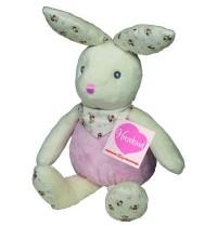 Teddy-Hermann - Bauernhof - Hase Pueppi, rosa 24 cm