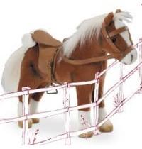 Pferd m. Sattel u. Zaumzeug Götz Puppenmanufaktur