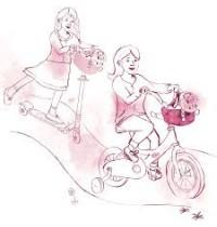 Puppen-Fahrradsitz Götz Puppenmanufaktur