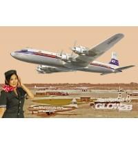 1/144 DC-7C Japan Air - Hersteller: Roden