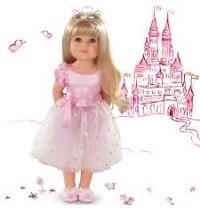 Hannah Princess, 50cm, blond Götz Puppenmanufaktur