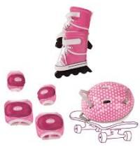 Inline Skates-Set Gr. XL für Stehpuppen 45-50cm   Götz Puppenmanufaktur
