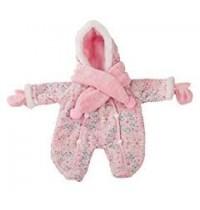 Winteranzug, rosa Gr. M für Babypuppen 42-46cm    Götz Puppenmanufaktur