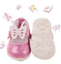 Schmetterlingsschuh Gr. M/XL für Babypuppen 42-46cm und Stehpuppen 46-50cmGötz Puppenmanufaktur