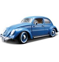 1/18 VW Käfer (1955), blau Bburago