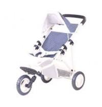 3-Rad-Buggy klein spotty blue Götz Puppenmanufaktur