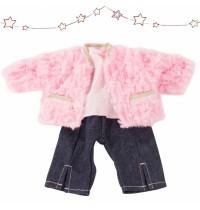 Babykombi Furry Pink, 30cm Götz Puppenmanufaktur