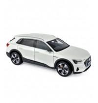 1/18 Audi e-tron 2019 White Metzallic