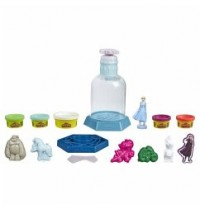 Hasbro - Play-Doh - Mysteries Disney™ Die Eiskönigin 2 Elsas Schneekugel mit 5 Play-Doh Farben