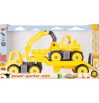 BIG - Power Worker - Mini Transporter und Bagger