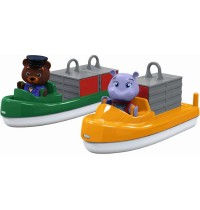 AquaPlay - Carrier plus Transport boat plus 2 puppets