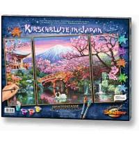 Schipper Arts & Crafts - Meisterklasse Triptychon - Kirschblüte in Japan