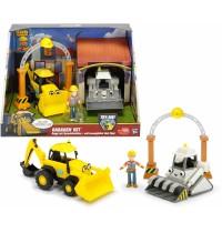 Dickie Toys - Bob der Baumeister Garagen Set