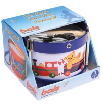 Bolz - Blechspielzeug - Lustige Trommel Spielkiste