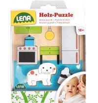 Lena - Holzspielzeug - Holzpuzzle Küche