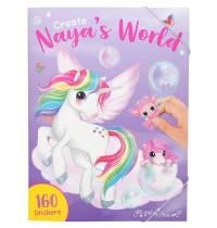 Depesche - Create Naya s World Malbuch mit Stickern