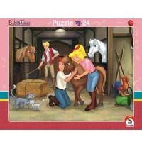 Schmidt Spiele - 2er Set RAPU Bibi u.Tina 24 und 40 Teile