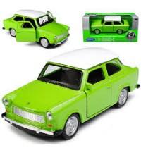 1:24 Trabant 601 zweifarbig Welly
