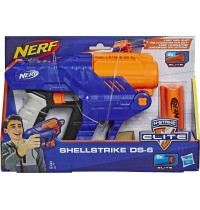 Hasbro - Nerf Elite Shellstrike DS 6