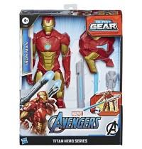Hasbro - Marvel - Avengers Titan Hero Serie Blast Gear Iron Man