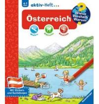 WWW aktiv-Heft Österreich Ravensburger  Wieso? Weshalb? Warum? aktiv-Heft