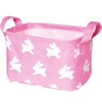Die Spiegelburg - BabyGlück - Kleiner Aufbewahrungskorb, rosa Häschen