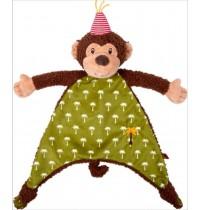 Die Spiegelburg - BabyGlück - Schnuffeltuch Affe