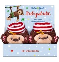 Die Spiegelburg - BabyGlück - Babyschuhe Affe