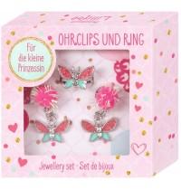 Die Spiegelburg - Prinzessin Lillifee - Schmuckset - Ohrclips & Ring