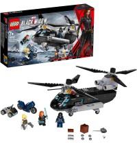 LEGO® Marvel Super Heroes 76162 - Black Widows Hubschrauber-Verfolgungsjagd