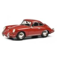 Schuco - Porsche 356 SC rot 1:43