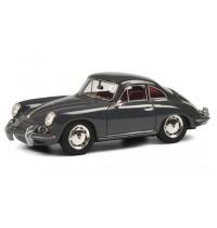Schuco - Porsche 356 SC grau 1:43