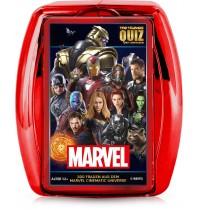 Winning Moves - Top Trumps - Quiz - Marvel Cinematic Universe