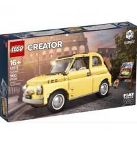 Fiat 500 gelb