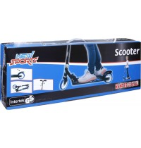 NSP Scooter Blau/Weiß, 125mm,