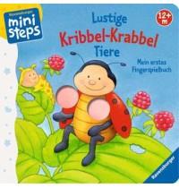 Ravensburger Buch - ministeps - Lustige Kribbel-Krabbel Tiere