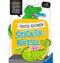 Erstes Rechnen Sticker-Rätsel Ravensburger Kinderbuch Lernen Lachen Selbermachen