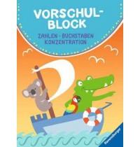 Vorschulblock - F20 Ravensburger Kinderbücher Lernbücher und Rätselbücher