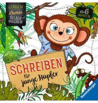 Schreiben für junge Hüpfer Ravensburger Kinderbuch Lernen Lachen Selbermachen
