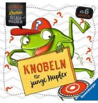 Knobeln für junge Hüpfer Ravensburger Kinderbuch Lernen Lachen Selbermachen