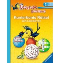 Rätsel zum Lesenlernen Ravensburger Kinderbuch Leserabe - Rätselspaß