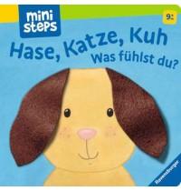 Hase, Katze, Kuh - Was fühlst Ravensburger Kinderbuch ministeps Bücher