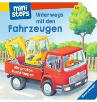 Unterwegs mit den Fahrzeugen, Ravensburger Kinderbuch ministeps Bücher