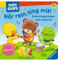 Erste Kinderlieder zum Anhöre Ravensburger Kinderbuch ministeps Bücher