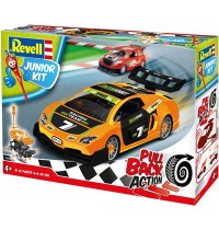 Revell - Junior Kit - Pull Back Action - Racing Car orange