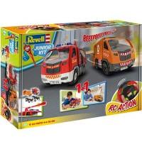 Revell - Junior Kit - 1+1 RC Action Set