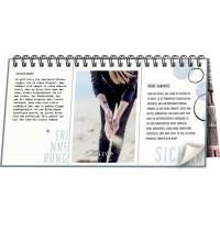 Dreiklapp-Tischkalender: Suche, Träume, Wage!