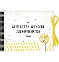 Coppenrath Verlag - Geldkuvert-Geschenkbuch: Alle guten Wünsche zur Konfirmation